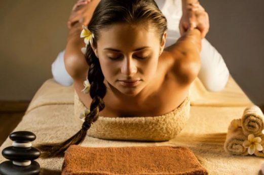 thai massage mascot